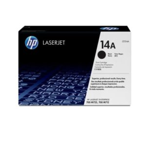 HP Black Original LaserJet Toner Cartridge CF214A (14A)
