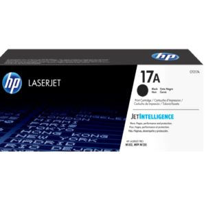 HP Black Original LaserJet Toner Cartridge CF217A (17A)