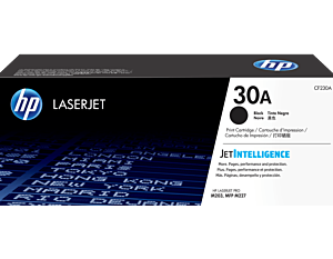 HP Black Original LaserJet Toner Cartridge CF230A (30A)