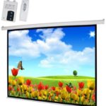 PROJECTOR SCREEN – ELECTRONIC SCREEN 180 x 180 CMS