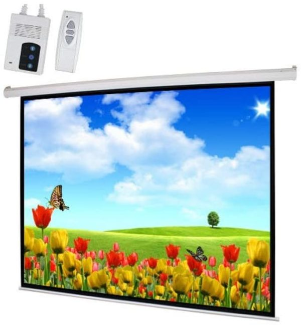 PROJECTOR SCREEN - ELECTRONIC SCREEN 180 x 180 CMS