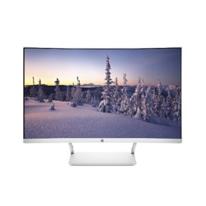 HP 27 Curved 27″ LED MONITOR ( White )