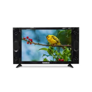 "NASCO LED FLAT TV 24"" (NAS-J24FB-S)"