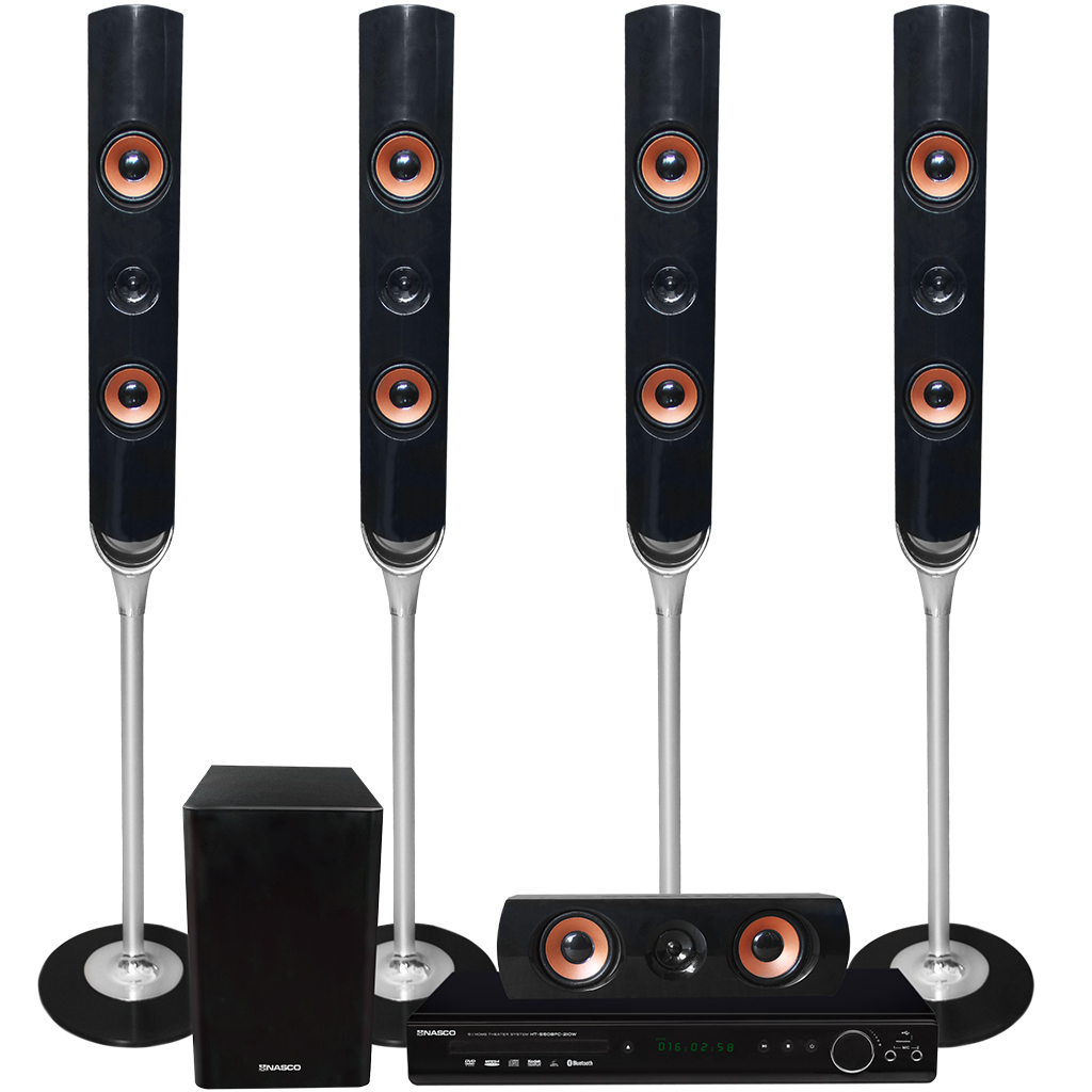 Nasco HOME THEATRE TALL SPEAKERS (HT-S508FC)- 210W