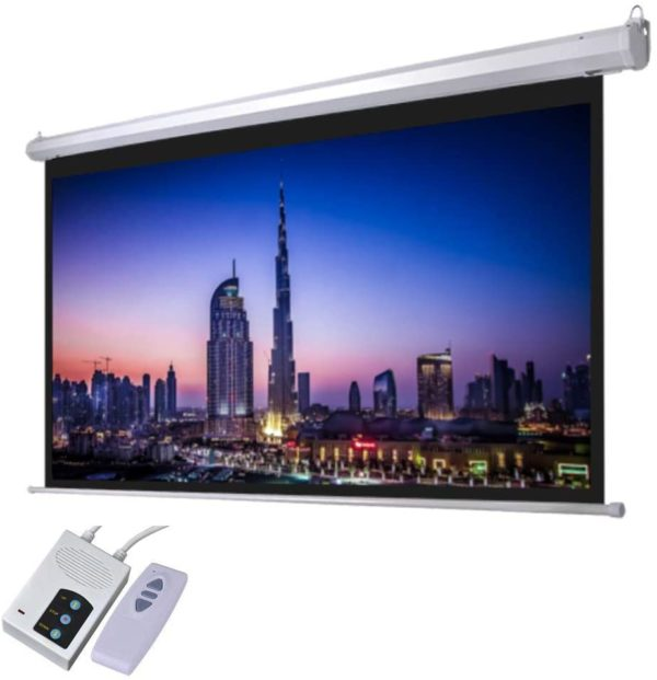 PROJECTOR SCREEN - ELECTRONIC SCREEN 240 x 240 CMS