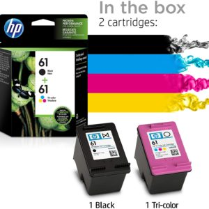 HP CARTRIDGE 61 BLACK AND COLOUR – COMBO