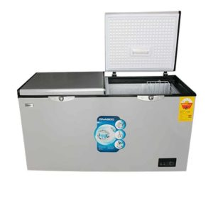 NASCO 400L DOUBLE DOOR CHEST FREEZER [ NAS-500X]