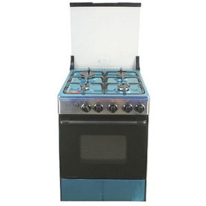 NASCO 4 Burner Gas Cooker (20BME61058)-Silver