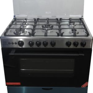 NASCO 5 Burner Gas Cooker (LME65022) – Silver
