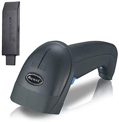 Barcode Scanner 1D Wireless with Stand - PM-BR1D920