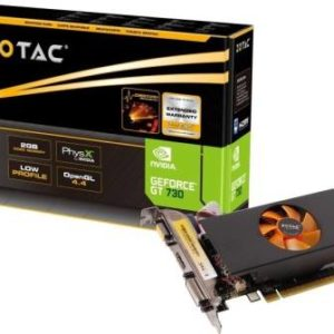 GRAPHIC CARD – FOR DESKTOP – ZOTAC GEFORCE GT 730 2GB