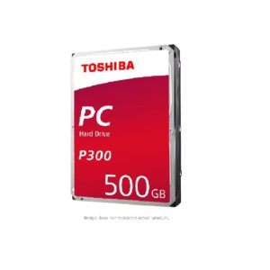Toshiba P300 500GB Desktop 3.5 Inch SATA 6Gb/s 7200rpm Internal Hard Drive