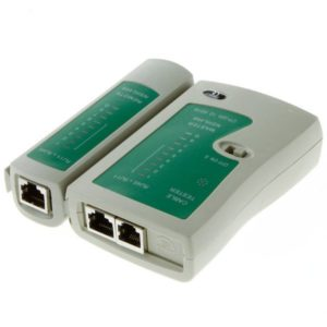 LAN TESTER ( NETWORK CABLE TESTER )