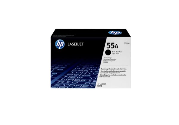 HP TONER CE255A (55A) BLACK