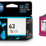 HP 63 Tri-color Original Ink Cartridge, F6U61AN