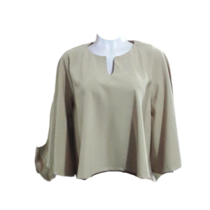 Brown Flair Cotton Top