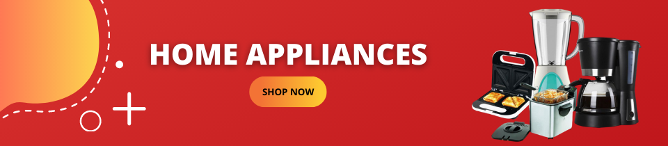 home appliances banner