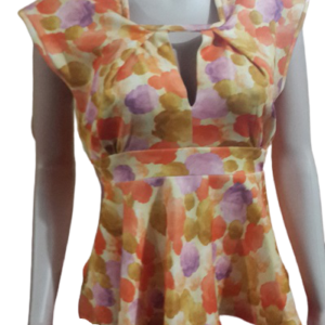 Stylish Sleeveless Scuba Top