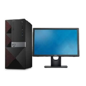 DELL VOSTRO 3668 – INTEL DUAL CORE, 4GB DDR4 RAM, 500GB HDD, 18.5″ LED MONITOR, KEYBOARD, MOUSE, DVDRW, DOS, WIFI INBUILT