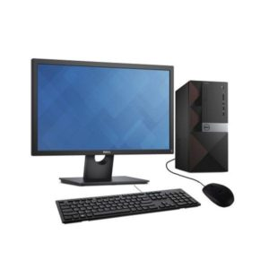 DELL VOSTRO DESKTOP 3670, INTEL CORE I5, 4GB RAM, 1TB HDD, DVDRW, KB MOUSE, WIFI INBUILT, 18.5 INCH MONITOR, DOS