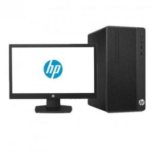 HP 290 G2 MT. PC INTEL DUAL CORE - G5400, 4GB RAM, 1TB SATA, 18.5″ MONITOR , DVDRW, USB KEYBOARD, MOUSE, DOS. PART NO : 4HR67EA