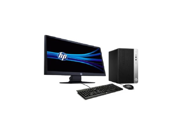 HP PRO 400 G5 M, INTEL CORE I5, 8TH GEN 8500, 4GB DDR4 RAM, 1TB SATA HDD, DVDRW, KB, MOUSE, 18.5 INCH LED MONITOR, DOS. ( PART NO : 5BL64EA )