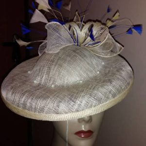 Pretty Handmade Cream Hatinator