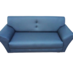 Comfortable 6 Seater Blue Sofa