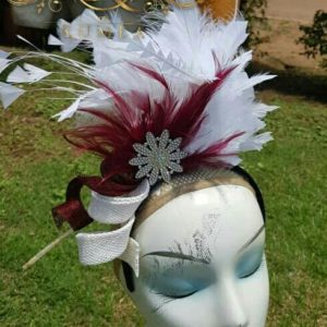 Beautiful Handmade Feathers Fascinator
