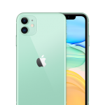 IPHONE 11, 128GB ( BLACK / GREEN )